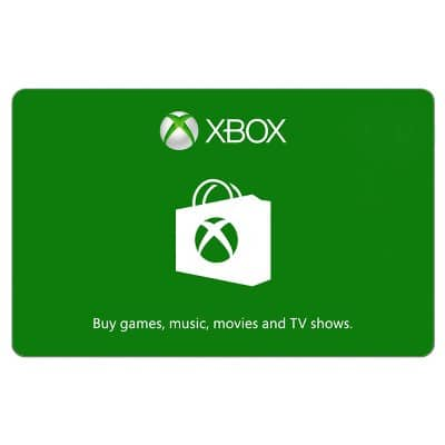 Xbox Gift Card 25€