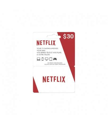 abonnement NETFLIX 30$