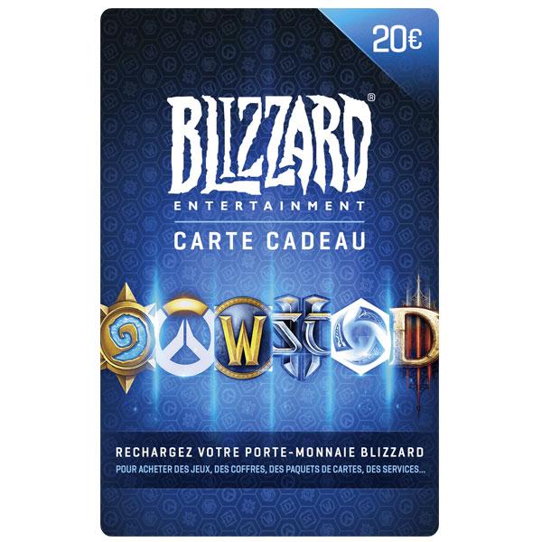 carte blizzard 20€ maroc