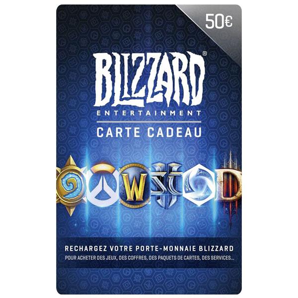 carte blizzard 50€
