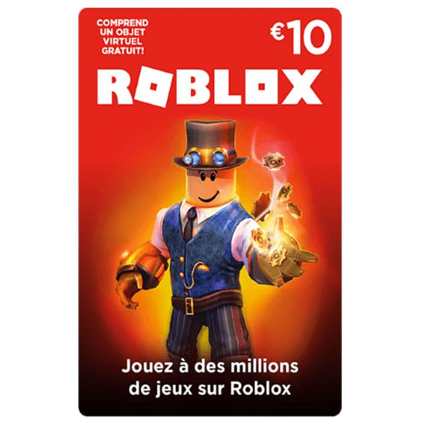 Carte Roblox 10€