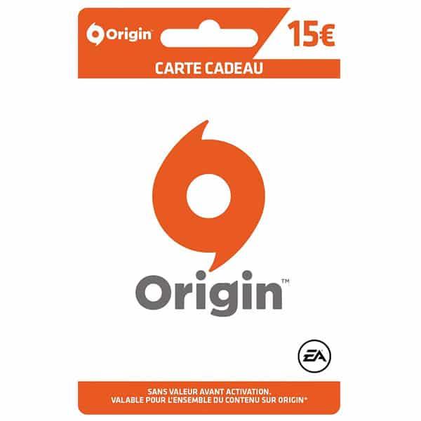 carte origin 15€