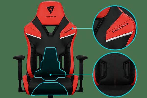 Thunder X3 TC5-Ember Red